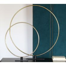 Gregory Large Ring Sculpture - Cleared Décor