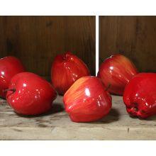 Set Of Faux Apples