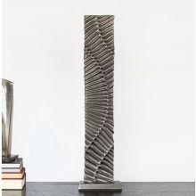 Abstract Metal Floor Sculpture - Cleared Décor