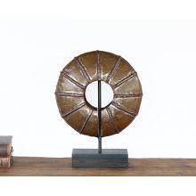 Rustic Bronze Wheel - Cleared Décor