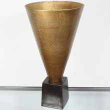 Large Conical Sculpture - Cleared Decor