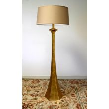 Tapered Gold Floor Lamp