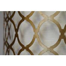 Metal Pattern Shaded Floor Lamp