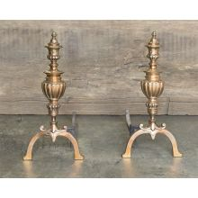 Antique Metal Andirons