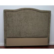 Tufted Moss Upholstered Queen Headboard