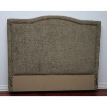Tufted Moss Upholstered Queen Headboard