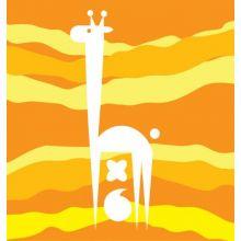 Animal Shapes Giraffes 15W X 15H