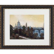 City Watercolor- London 28W x 23H