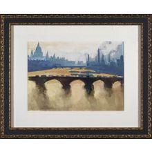 City Watercolor - Paris 28W x 23H