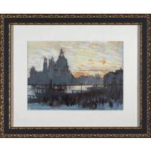 City Watercolor - Venice 28W x 23H