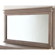Settler Mirror in Sundried Ash