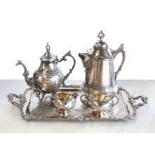 Silver Plated Tea Service - Set of 5