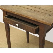 Early Tennessee One Drawer Nightstand circa 1850