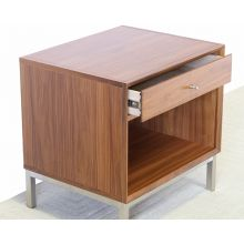 One Drawer Walnut Night Stand