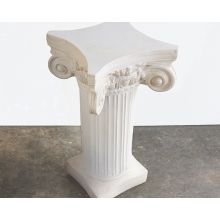 White Column Display Pedestal