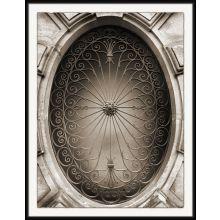 Stroll Through Paris - Window Vent, Avenue Charles Floquet 28W x 36H