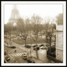 Stroll Through Paris - View From the Flat I 34W x 34H