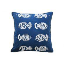 Indigo Pisces Pillow