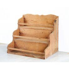 Vintage Wood Display Rack