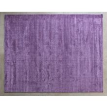 8' x 10' Hand-loomed Rug in Eggplant