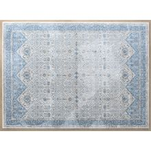 8' X 11' Ainsley Rug In Ivory Blue