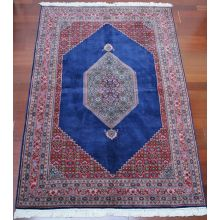 "6'2"" x 9'1"" Antique Persian Rug"