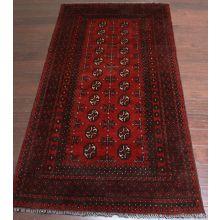 "3'4"" x 6'5"" Afghan Style Rug"