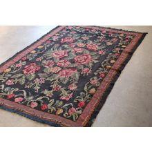 5' x 8' Vintage Floral Rug
