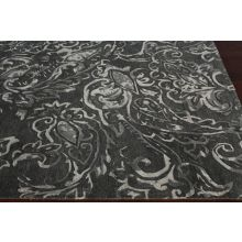8' x 11' Mahsa Rug in Dark and Light Gray