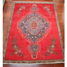 "10'4"" x 7'9"" Antique Persian Rug"