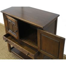 Solid Oak English Cupboard circa 1930s