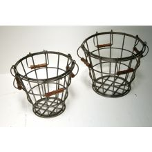 Set of 2 Factory Baskets