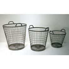 Set of 3 Industry Baskets