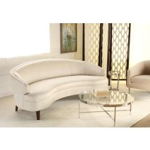 "Mitchell Gold Vera 89"" Sofa in Splendor Silver"