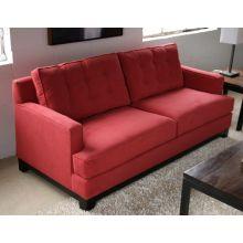 Light Raspberry Contemporary Sofa