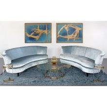 Demi Sofa In Boden Glacier