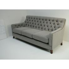 Light Gray Randolph Sofa with Nailhead Trim