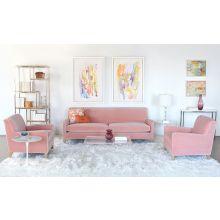 Sloane Chair In Vivid Blush