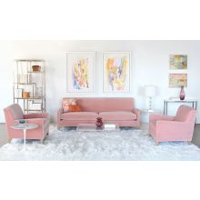 Sloane Sofa In Vivid Blush