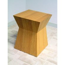 Pawn Stool in Natural Oak
