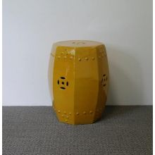 Yellow Octagon Stool