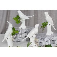 Set of 4 Bird Vases