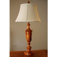 Floret Trophy Wood Table Lamp