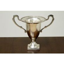 Antique Silver Trophy 8""