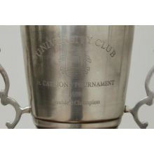 Antique Silver University Trophy