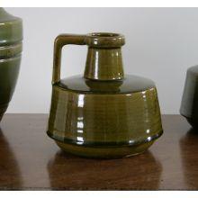 Small Green Ceramic Vase